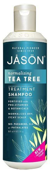 Jason Natural Products Tea Tree Scalp Normalizing Shampoo