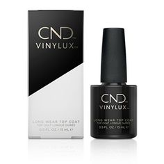 CND Vinylux Long Wear Top Coat creates long-lasting wear and durability with exposure to natural light over time.Designed to be used with Vinylux color. Types Of Nail Polish, Top Coat Nail Polish, Types Of Nails, Nail Polish Colors, Hard Nails, Fun Nails, Cnd Vinylux, Essie Gel
