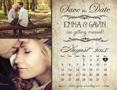 Save The Date Magnet or Card    -------------------------------------------------------------------------------------------------    ► 25% off for