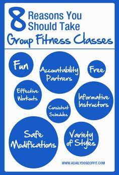 8 Reasons You Should Take Group Fitness Classes / A Daily Dose of Fit