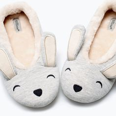 ZARA - SHOES & BAGS - HOME ANIMAL SLIPPERS
