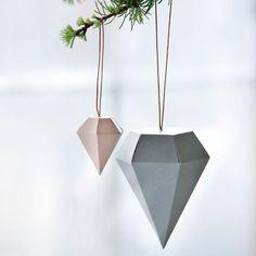 moksha.hu | Karácsony: skandináv papír és fa karácsonyfadíszek | http://www.moksha.hu
