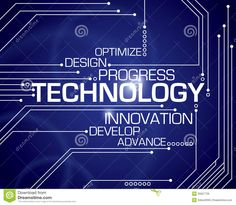 Technology Word Background Royalty Free Stock Images - Image: 35627739