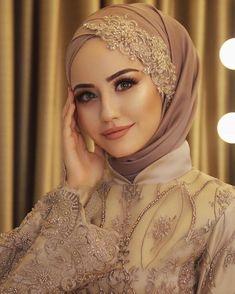 Hijab Wedding Dresses, Hijab Bride, Bridal Hijab, Wedding Dressses, Casual Hijab Outfit, Hijab Chic, Reduce Body Fat, Wedding Art, Wedding Cakes