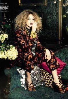 Cara Delevingne | Ellen von Unwerth | Vogue Italia November 2012 | It-List2012 - 3 Sensual Fashion Editorials | Art Exhibits - Anne of Carversville Women's News