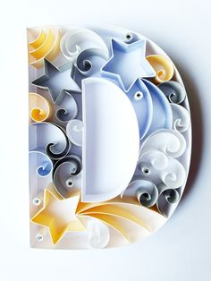 Quilling Letters, Paper Quilling Cards, Quilling Work, Paper Quilling Patterns, Quilled Paper Art, Quilling Paper Craft, Paper Crafts Origami, Quilled Creations, Heartfelt Creations