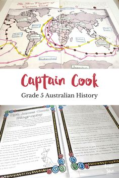 A collection of fantastic teaching resources dedicated to Captain Cook. These have been designed for Year 5 HASS and aligned to the Australian Curriculum.  Aussie Star Resources - Making Life Easier for Upper Primary Teachers