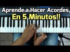 Acordes - Como Tocar El piano / Fácil y Rápido / Para Principiantes - YouTube The Piano, Karaoke, Musica Popular, Biologique, Youtube, Musicals, Lettering, Songs, Learning