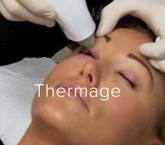 Thermage is a safe, non-invasive procedure that's clinically proven to help smooth, tighten and contour skin for an overall younger looking appearance: http://www.calgarylaserhealth.com/thermage/