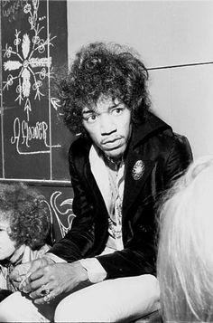 Jimi Hendrix: Ann Arbor, Michigan Aug.15, 1967. I was born in Ann Arbor but wasn't there then.