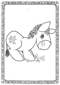 Precious Moments Animals Coloring Pages | Precious Moments ...