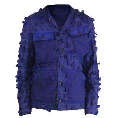 Griffin Bladecut Jacket - Cobalt £395 http://www.griffin-studio.com/welcome/product/bladecut-jacket/ #griffin #menswear #sportswear #fashion #lovelife #lovesummer #loveland #podlife