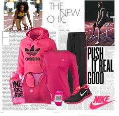 """""""Winter Running Outfit"""" by sanchez-gaby on Polyvore"""
