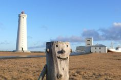 The lighthouse at Gardskagaviti.