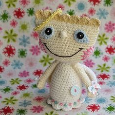 Crochet angel pattern by VendulkaM on Etsy