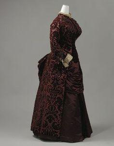 Charles Frédérick Worth - Robe de jour (1883-85)