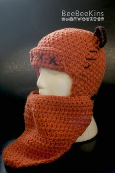 Crochet Star Wars Ewok Wicket Hat