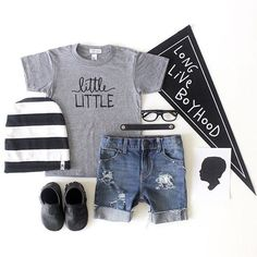 5eea557b4b1b Little Faces Apparel - Little little kid's graphic tee. Baby boy fashion, boys  clothes