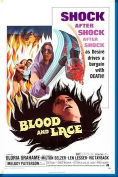 Blood And Lace Movie Poster 24inx36in