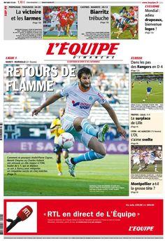 L'Équipe - Dimanche 16 Septembre 2012 - N° 21248