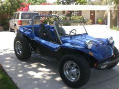 MEYERS MANX TYPE DUNE BUGGY STREET LEGAL VW.  My parents had one of these bright fusia with flower top