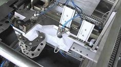 PP woven valve bag making machinery - YouTube
