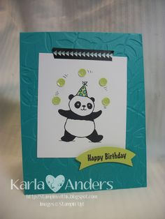 A Work of Heart: Celebrate Sale-A-Bration! Karla Anders, Party Pandas, Stampin Up!