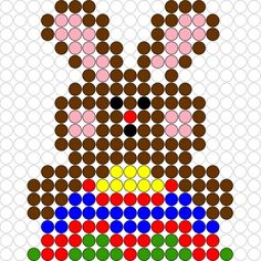 Kralenplank Paashaas 3- Liselotje en het Paasfeest Hama Beads Patterns, Beading Patterns, Happy Easter, Easter Bunny, Fun Crafts, Crafts For Kids, Iron Beads, Plastic Canvas Patterns, Crochet Designs
