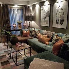 me- colorful eclectic living room 35 ~ mantulgan.me colorful eclectic living room 35 ~ mantulgan. Eclectic Living Room, Living Room Green, Interior Design Living Room, Home And Living, Living Room Designs, Living Room Decor, Decor Room, Living Room Inspiration, Home Decor Styles