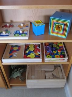 Celebrate learning with your Montessori child by creating space at home that supports the school environment. Child sized furniture, a low shelf displaying rotating sets of activities, and easily accessed art supplies are great ways to bring Montessori home!