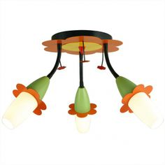 plafoniera cu abajururi cu picior flexibil 360 WIKY marca Eglo