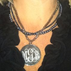 Monogrammed Jewelry by Southern Flair Monogramming