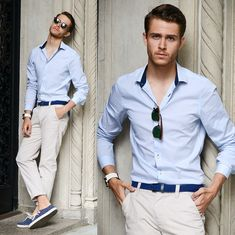 Business Casual Herren Sommer Kleidung Look #fashion #style