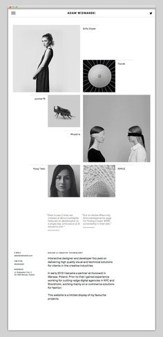 Saved by Rebecca Gurry Discover more of the best Layout, Design, Website, Minimal, and Webdesign inspiration on Designspiration Design Page, Layout Design, Interaktives Design, Flat Web Design, Minimal Web Design, Website Design Layout, Web Design Trends, Website Design Inspiration, Web Layout