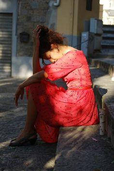 Rosso Rouge Red Gioco di Donne Naima Amarilli Pois Polka Dots