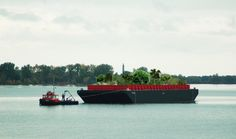 Swale, a Floating Food Forest on a Barge Headed to NYC This Summer! Check this out when you have a minute.