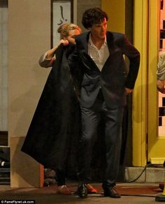 I NOW WANT this job, Ben and the coat, oh yeah. Where do I apply?