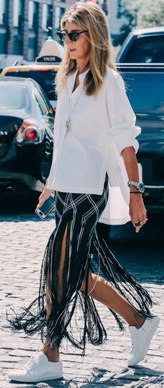 Street Style - New York Fashion Week Spring/Summer 2016