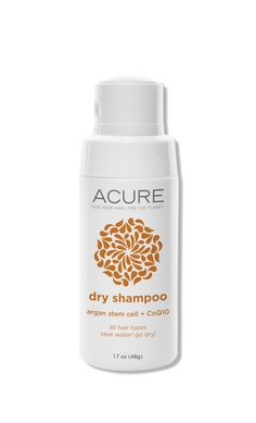 A sprinkle of cornstarch-based Acure Organics Argan Stem Cell Dry Shampoo at the roots builds bombshell volume—no heat tools or back-combing required.   - ELLE.com