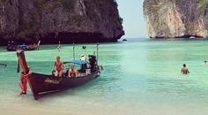 Phi Phi Islands, in December