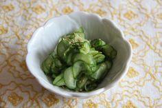 Sunomono (cucumber salad) Recipe