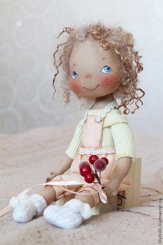 Muñecas de colección hechos a mano.  Masters Feria - Marinka mano.  Hecho a mano.
