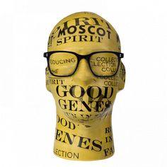 Moscot Eyewear. 'TRAVIS' eyeglasses, black.