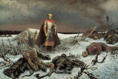 Aftermath of the Mongol invasion of Russia