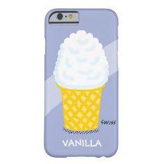 Vanilla Ice Cream Cone Lavender iPhone6 Case iPhone 6 Case