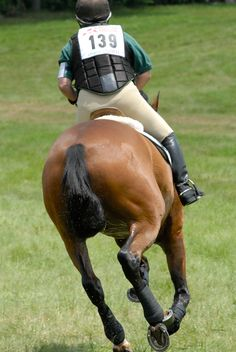 How can I regain control of my eventing horse when he zones out on cross country?