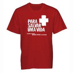 Camiseta Para Salvar Uma Vida - Loja Virtual Gospel Goods