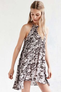 Kimchi Blue Florence High/Low Dress - Urban Outfitters