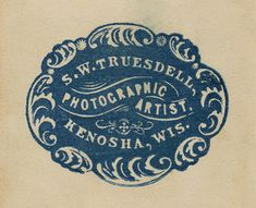 logo stamped.