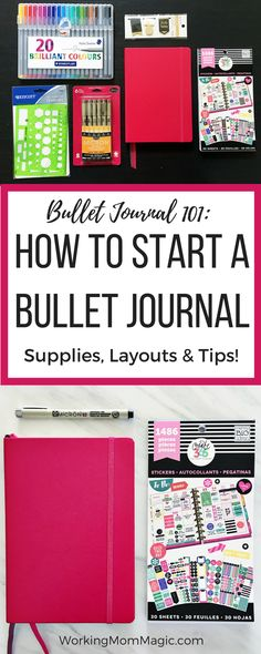 Bullet Journaling for Beginners: Everything you need to know to get organized with a bullet journal!